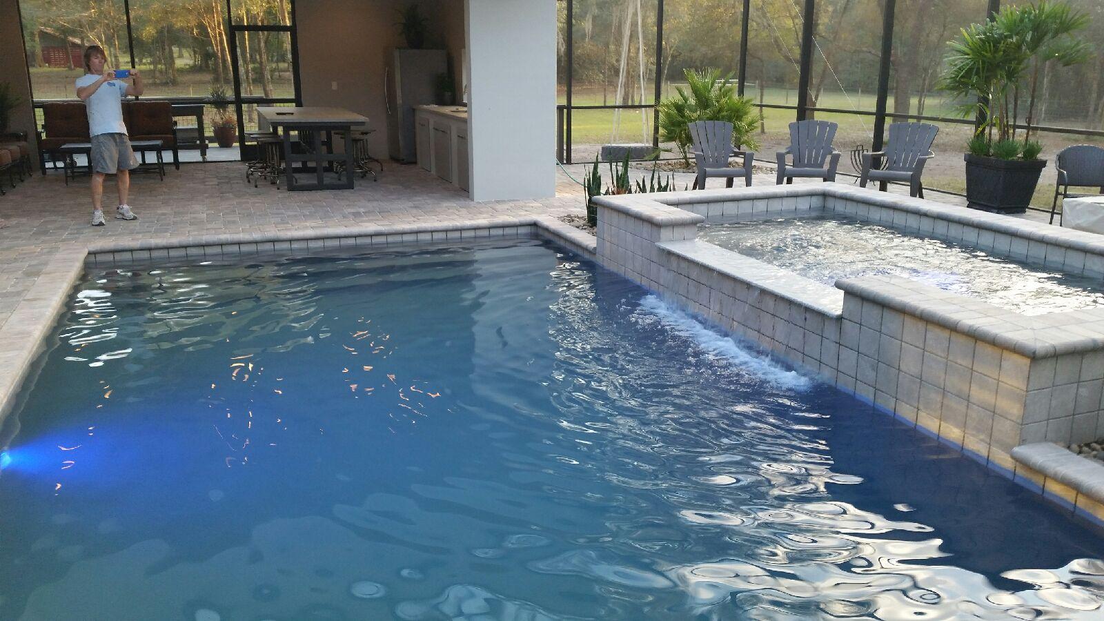 Residential Pools Aqua Works Pools Inc